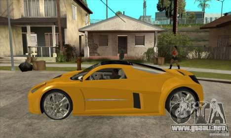Chrysler ME Four-Twelve Concept para GTA San Andreas left