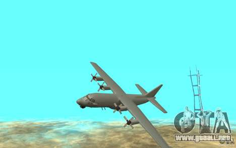 C-130H Spectre para GTA San Andreas left