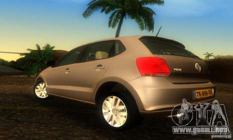 Volkswagen Polo 1.2 TSI para GTA San Andreas left