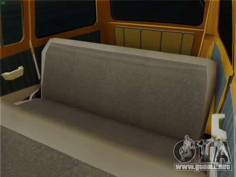 GAS 22 para GTA San Andreas interior