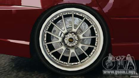 Mitsubishi Lancer Evolution 8 para GTA 4 vista interior