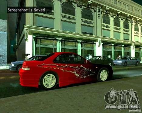 Honda Prelude con afinación para la visión correcta GTA San Andreas