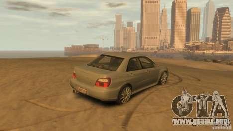 Subaru Impreza para GTA 4 left