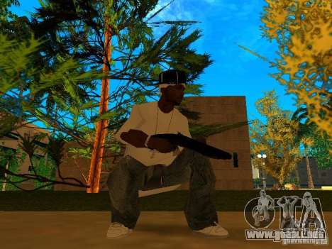 New Weapon Pack para GTA San Andreas sucesivamente de pantalla