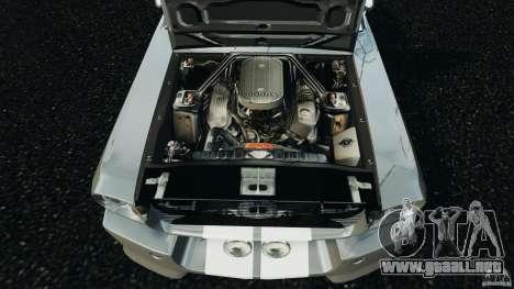 Shelby GT 500 Eleanor v2.0 para GTA 4 vista lateral