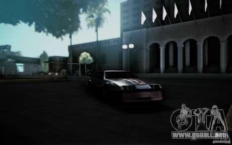 San Andreas Graphics Enhancement para GTA San Andreas quinta pantalla