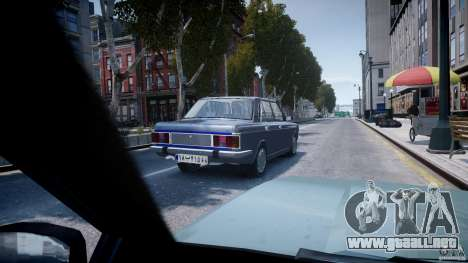Peykan 1600i para GTA 4 vista lateral