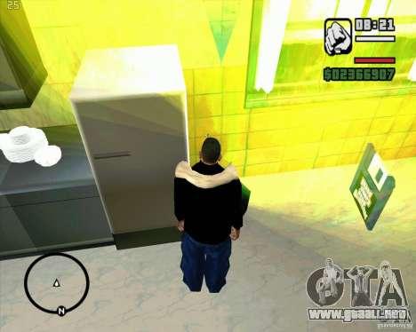 Hacer basura para GTA San Andreas tercera pantalla
