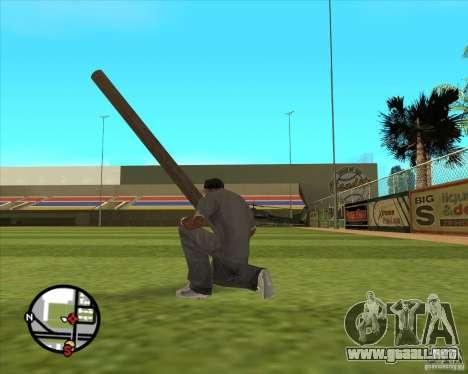 Madera rusa para GTA San Andreas tercera pantalla