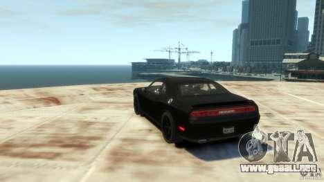 Dodge Challenger SRT8 para GTA 4 visión correcta