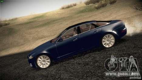 Jaguar XJ 2010 V1.0 para GTA San Andreas left
