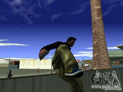 Claude HD Remake (Beta) para GTA San Andreas quinta pantalla