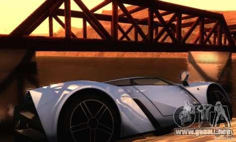 ENBSeries by dyu6 v5.0 para GTA San Andreas octavo de pantalla