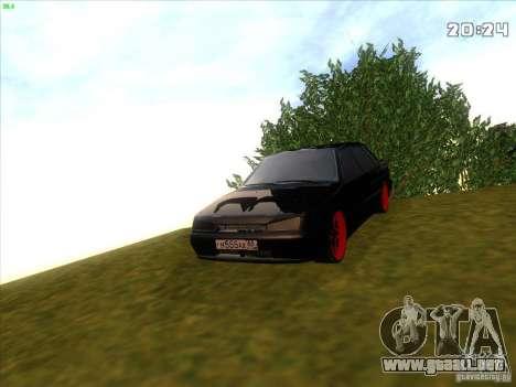 VAZ 2115 Devil Tuning para la visión correcta GTA San Andreas