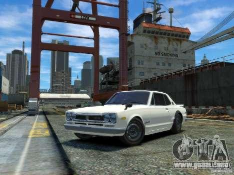 Nissan Skyline 2000 GTR para GTA 4