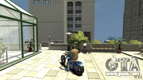 The Lost and Damned Bikes Hexer para GTA 4 Vista posterior izquierda