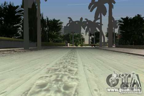 Snow Mod v2.0 para GTA Vice City sexta pantalla