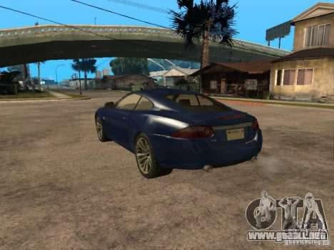 Jaguar XK para GTA San Andreas left