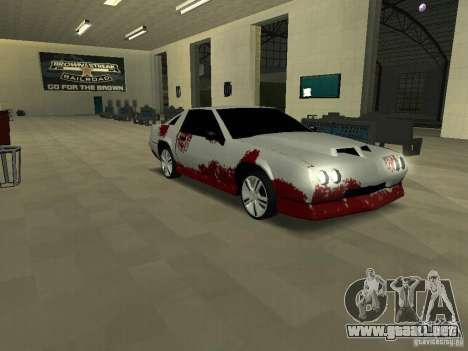 Sangre en las máquinas para GTA San Andreas sucesivamente de pantalla