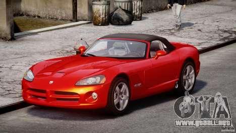 Dodge Viper SRT-10 2003 1.0 para GTA 4