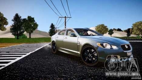Jaguar XFR 2010 para GTA 4 visión correcta