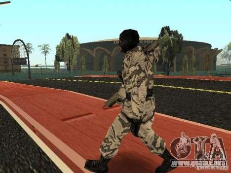 Vengador del Ártico para GTA San Andreas segunda pantalla