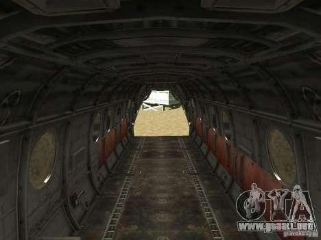 Helicóptero Leviathan para la visión correcta GTA San Andreas