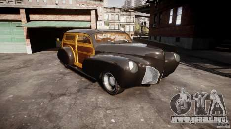 Chevy Fleetmaster Woody Kustom 1948 para GTA 4