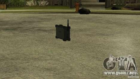 Flash de la CoD MW2 para GTA San Andreas segunda pantalla