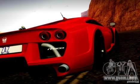 Noble M600 Final para GTA San Andreas left
