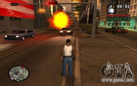 RGD-5 para GTA San Andreas tercera pantalla