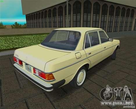 Mercedes-Benz 230 1976 para GTA Vice City visión correcta