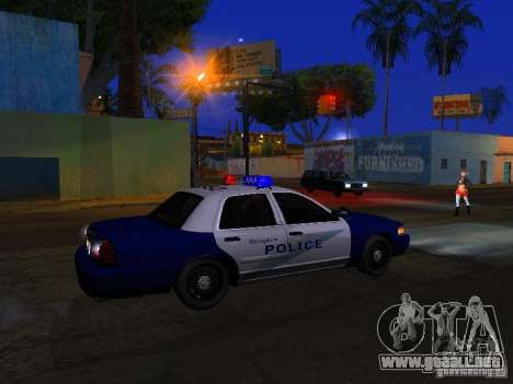 Ford Crown Victoria Belling State Washington para GTA San Andreas interior