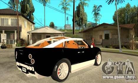 Spyker D8 Peking-to-Paris para la visión correcta GTA San Andreas