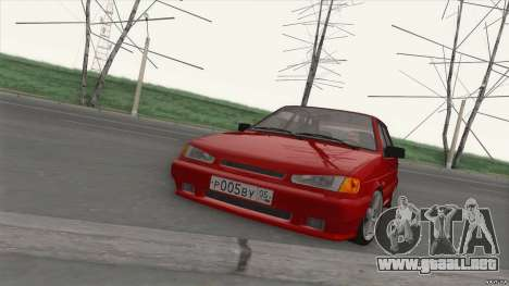 ВАЗ 2114 GOTA para GTA San Andreas