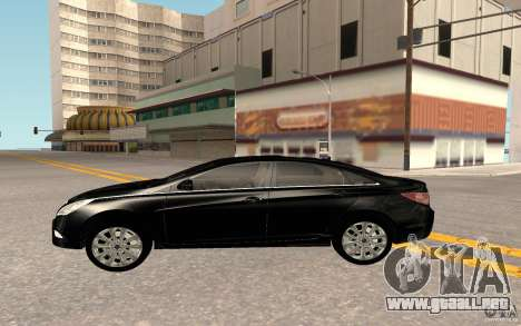 Hyundai Sonata 2012 para visión interna GTA San Andreas