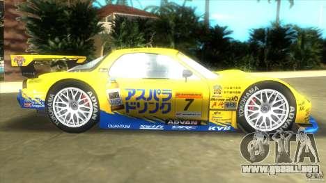 Mazda Re-Amemiya RX7 FD3S Super GT para GTA Vice City left