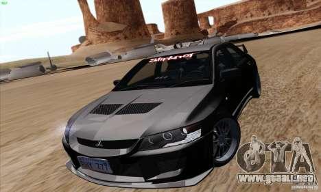 Mitsubishi Lancer EVO VIII BlackDevil para GTA San Andreas