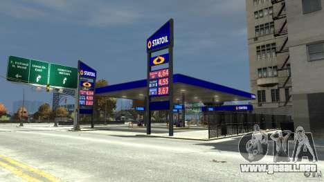 Statoil Petrol Station para GTA 4 segundos de pantalla