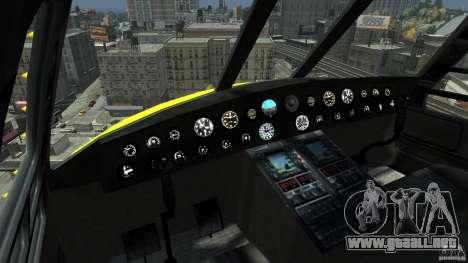 Yellow Annihilator para GTA 4 left