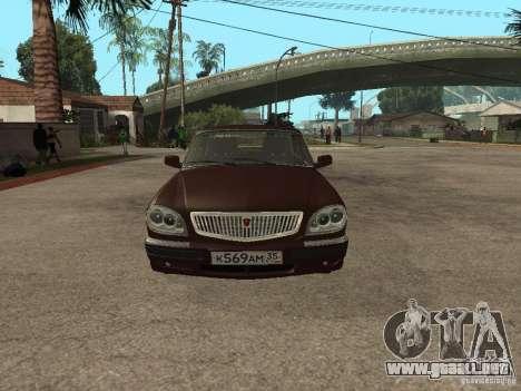 GAS 311055 para GTA San Andreas vista posterior izquierda