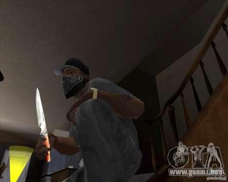 Hoja de caza para GTA San Andreas segunda pantalla