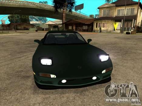 Mazda RX-7 1991-1999 para la visión correcta GTA San Andreas