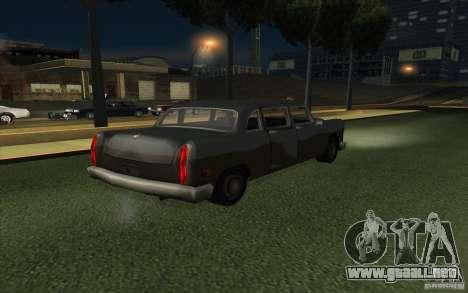 Civilian Cabbie para la visión correcta GTA San Andreas