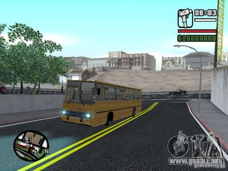 IKARUS 260.37 para GTA San Andreas left