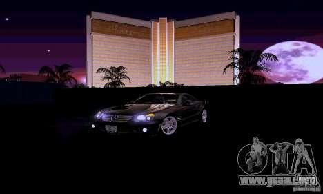 Mercedes-Benz SL65 para la vista superior GTA San Andreas