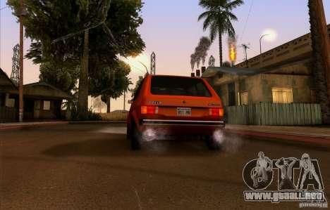 ENBSeries by HunterBoobs v2.0 para GTA San Andreas quinta pantalla