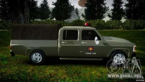 Chevrolet D20 Brigada Militar RS para GTA 4 left