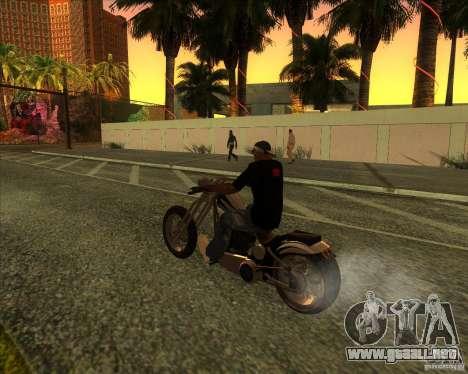 Hexer bike para vista inferior GTA San Andreas