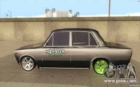 2106 VAZ Lada deriva sintonizado para GTA San Andreas left